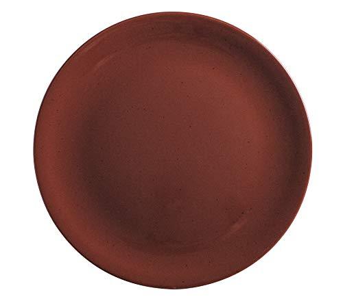 Kahla Homestyle siena red Pizzateller 31 cm