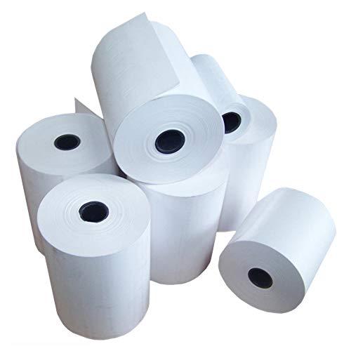 NOW PRODUCTS UK MADE - Rollos de papel térmico para puntos de venta electrónicos (EPOS) (20 rollos por caja de 80 x 80 mm)