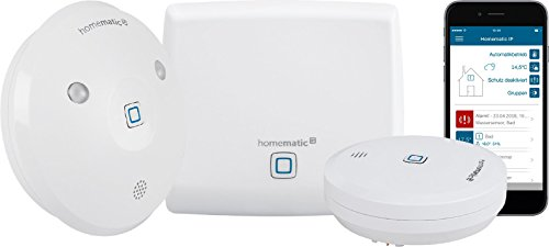 Homematic IP Smart Home Starter Set Wasseralarm - Intelligenter Alarm auch aufs Smartphone, 153405A0
