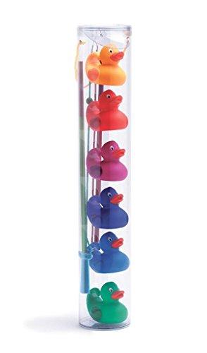 DJECO- Juegos de acción y reflejosJuegos de habilidadDJECOJuego Habilidad Pesca-Patos Arco Iris, Multicolor (15)