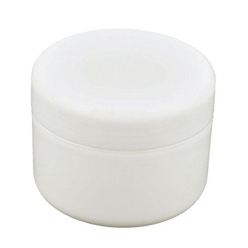 sourcingmap Cosmétique Maquillage plastique pot vide pot Crème visage crème hydratante contenant bouteille