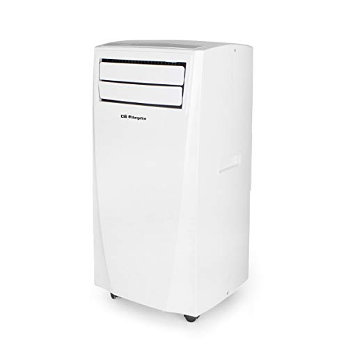Orbegozo ADR 92 – Aire Acondicionado portátil con clasificación energética A, Mando a Distancia, deshumidificador, Pantalla Digital, Formato Compacto, Blanco