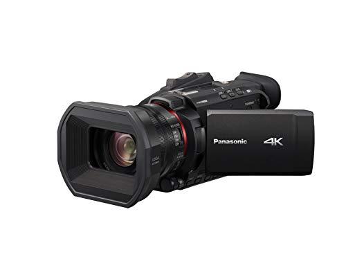 Panasonic HC-X1500E 4K Camcorder (4K Video, Kamera mit Gesichtserkennung, Leica Objektiv, 25mm Weitwinkel, 24x optischer Zoom, Profi-Videokamera)