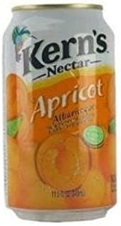 Kern's Apricot Nectar 11.5oz Cans 6 Pack