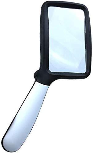 SILOLA Lupa LED de Mano con luz Lupa LED de Alta Potencia con luz para Lectura, inspección, Soldadura, Costura, reparación, Hobby y Manualidades, Lea