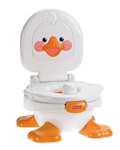 Fisher-Price Orinal Cuá Cuá 3 en 1, orinal para bebé +9 meses (Mattel T6211) ⭐