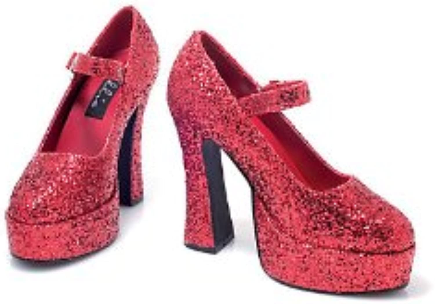 Ellie shoes 149557 Sexy Eden- Red Glitter Adult shoes