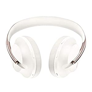 Bose Noise Cancelling Headphones 700 — Over Ear, Wireless Bluetooth Headphones with Built-In Microphone for Clear Calls & Alexa Voice Control, Soapstone