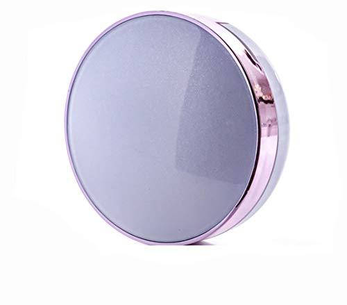 1 boîte de coussin d'air ronde vide vide avec éponge et miroir faits maison outils de beauté liquide fond de teint BB CC crème étui de rangement portable pour maquillage