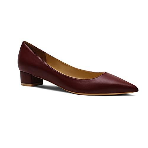 Tacones Gruesos Zapatos De 3 Cm / 1,18 Pulgadas para Mujer,Boda,Tacón Medio,...