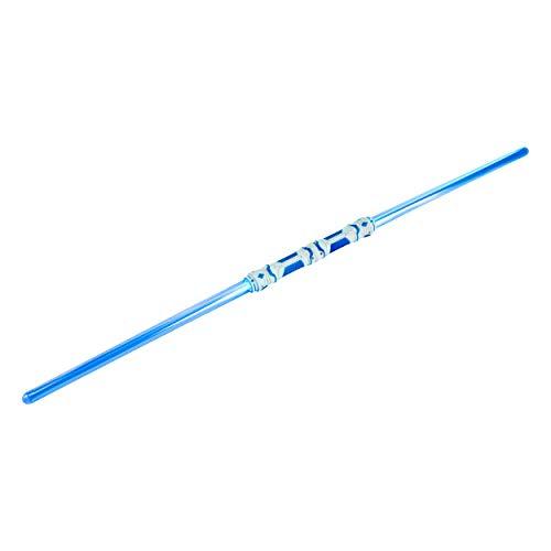 Heim & Büro Doppel Laserschwert 110 cm Blau | Lichtschwert | zweifarbig