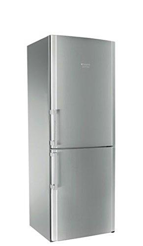Hotpoint ENBLH 19221 FW Libera installazione 450L A+ Acciaio inossidabile frigorifero con congelatore