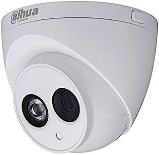 Dahua - Cámara Domo Profesional 6 Mpx IP POE optica fija 28 mm con iluminación infrarroja