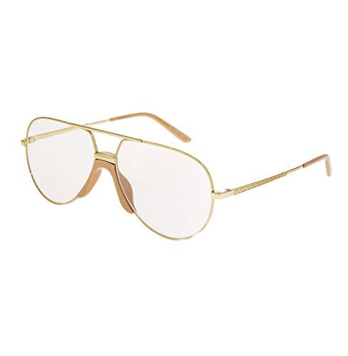 Gucci GG0432S SHINY ENDURA GOLD/SHINY SOLID NUDE (001) - Gafas de sol