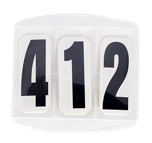 Kerbl Turniernummer Startnummern Klett-Befestigung 1 Paar