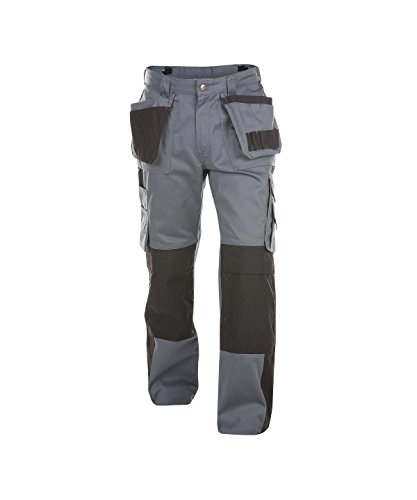 Dassy Seattle 300G Pantalon d'utilité Professionnelle, Grigio/Nero, 42 Mixte