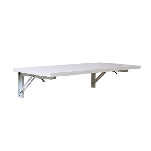 LXLA-mesa de pared abatible Mesa Plegable de Pared Mesa de Comedor de Cocina Mesa de Trabajo de Madera Estación de Trabajo Niños Organizador de Estudio Blanco (Tamaño : 40×30cm)