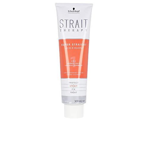 Schwarzkopf No.1 Strait Therapy Straightening Cream for Normal Hair, 0.35...