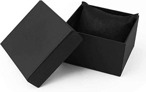 Boîte, boîte d'affichage à anneaux, boîte de rangement, boîte-cadeau, Perles d'affichage de stockage porte-boucles d'oreille Organiseur de montre Montre Montre Boîtes cadeaux, 12 pack Bracelet Bracele