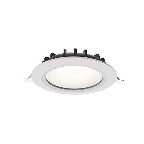 Preisvergleich Produktbild LED-Einbaustrahler THEA von Collingwood / Runde IP54 Deckenleuchte dimmbar / Plug & Play / Einbau-Spot für Badezimmer,  Küche oder Wohnzimmer / 3 Farbtemperaturen / 16W