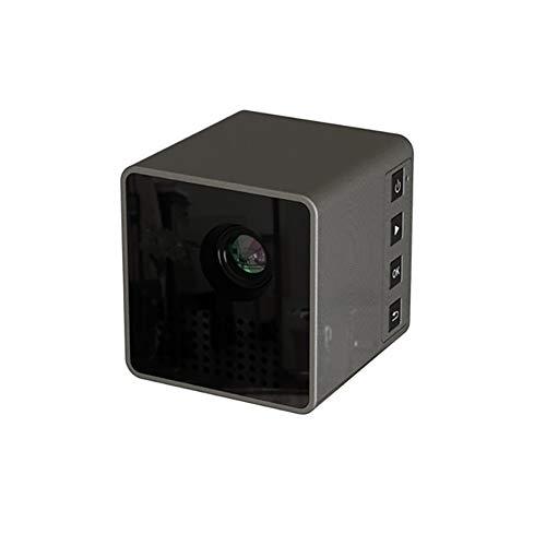 Proyector inalámbrico WIFI teléfono móvil, proyector miniatura 1080P HD, proyector de cine en casa, teatro de bolsillo ideal para cine en casa y entretenimiento al aire libre