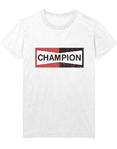 HYPSHRT Herren T-Shirt Once a Time in Hollywood Pitt Champion C1000003 Weiß M