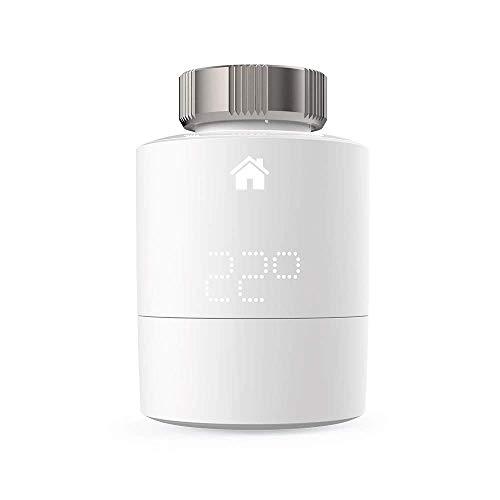 tado Smart Radiator termostato (montaje horizontal) – complemento para control de múltiples habitaciones, control de calefacción inteligente
