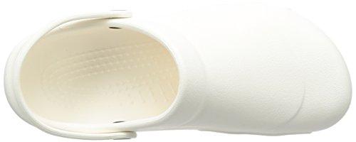 Crocs Specialist Vent - Zuecos con correa, unisex, color blanco (white), talla 46-47