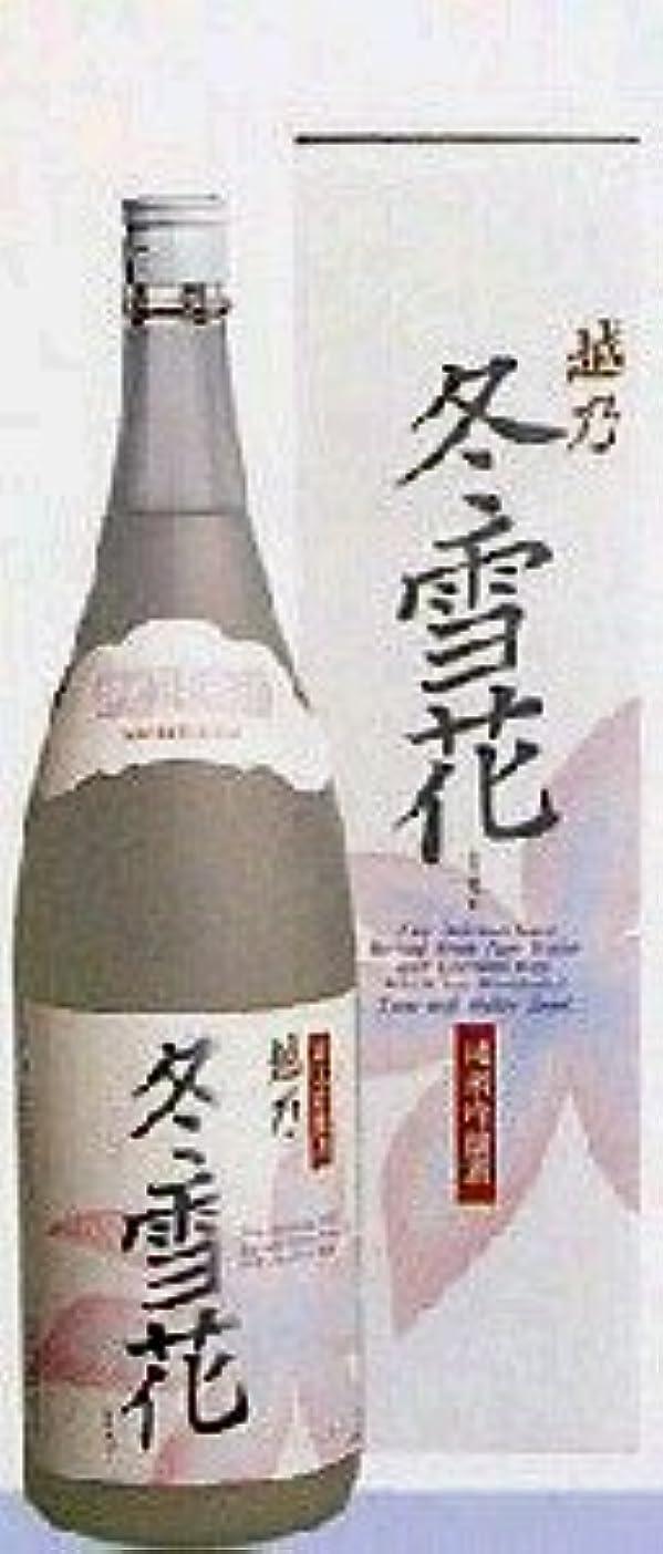 歌う羊おばあさん越乃冬雪花 純米吟醸酒 1.8l
