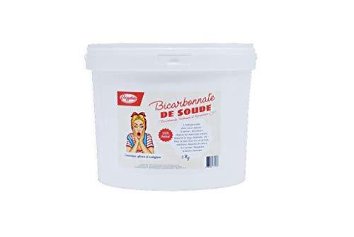 VOZYDEO - Bicarbonate de Soude - 5 KG - Agent d'Entretien Polyvalent - Nettoyant et Désodorisant - Hygiène et Bien-être - Substitut de Levure - Produit Naturel, Économique et Écologique