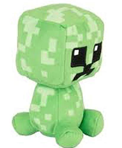 JINX- Peluche Minecraft Mini Crafter Pixel Creeper (889343028595)