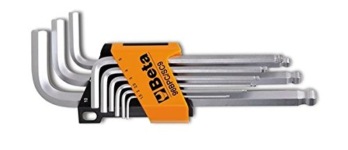 Beta Tools 000960354 96 BPC/SC9 - Juego de 9 llaves hexagonales con...