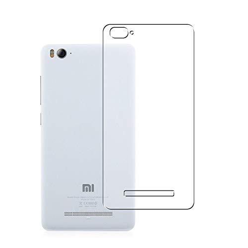 Vaxson 2 Stück Rückseite Schutzfolie, kompatibel mit Xiaomi Mi 4c, Backcover Skin TPU Folie [nicht Panzerglas/nicht Front Bildschirmschutzfolie]