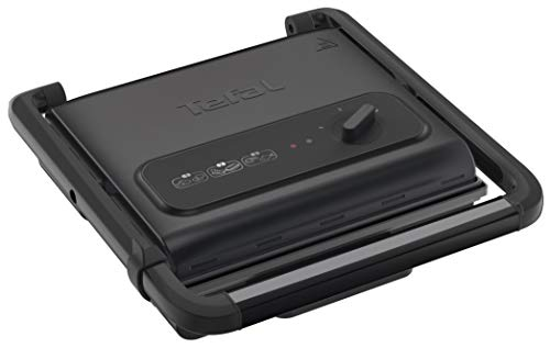Tefal Inicio Adjust GC242840 Versatile, Health Grill, Black, 2000 W, 6-8 Portions