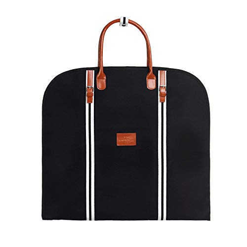 Saint Maniero Premium Suit Carrier Bag / Dress Bag - Black