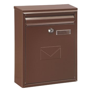 Rottner como Brown–Dual Access Steel post post box