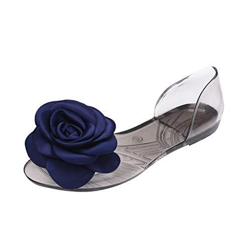 Berimaterry Sandalias Mujer Verano 2019 Zapatos Planos cómodos Mujer Primavera Verano Bohemia Sandalias Zapatos Planos de Playa Calzado Casual de señoras Zapatillas Sneakers niña Cuna Bailarinas