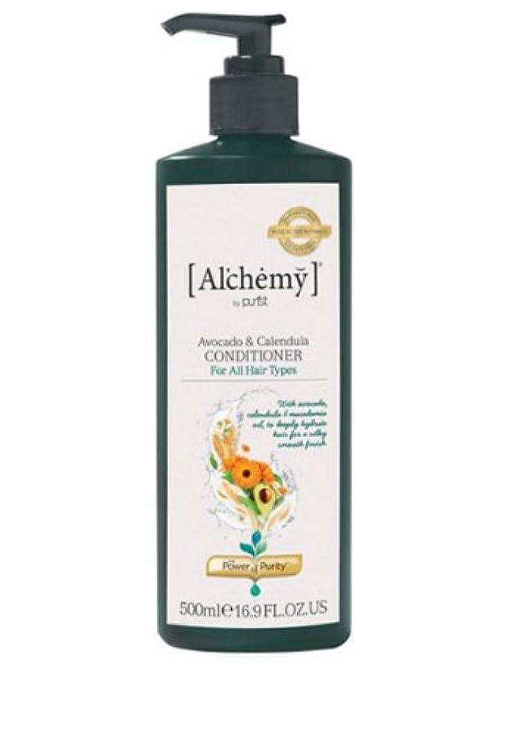 泥棒壁紙船上【Al'chemy(alchemy)】アルケミー アボカド&カレデュラ コンディショナー(Avocado&Calendula Conditioner)(ドライ&ロングヘア用)お徳用500ml