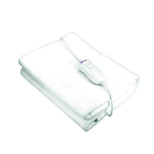 Pekatherm UP105D - Calientacamas Individual Eco de Poliéster, Gama Básica, 60W, 150 x 80 cm | Calientacamas Eléctrico | Calienta Camas