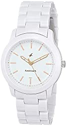Fastrack Trendies Analog White Dial Women's Watch image on Review to shop