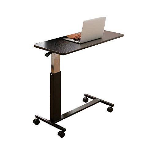 N/Z Tägliche Gerätehöhe einstellbar Stehend mit seitlichem Kurbelgriff-Büchertisch mit Riemenscheibe 90 x 40 x 66-90 cm
