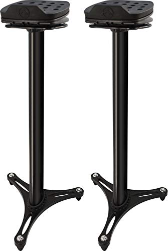 Ultimate Support MS-100B MS Series Professional Column Studio Monitor Stand with...