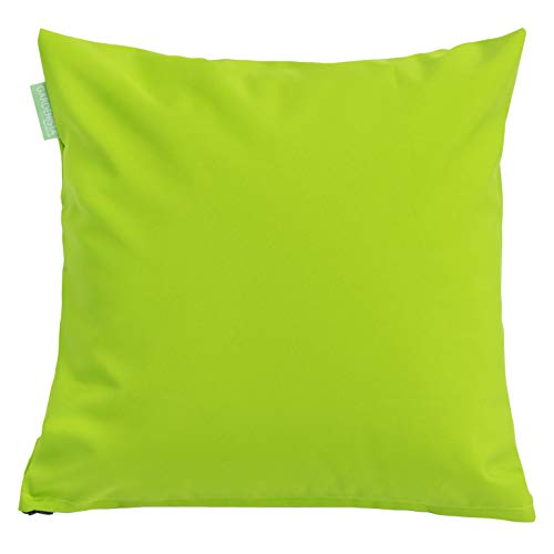 Water Resistant Outdoor Hollowfibre Filled 18' Cushion in Lime Green