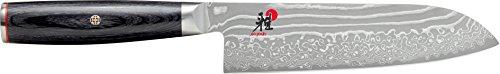 MIYABI 34684–181–05000FCD Santoku Coltello Giapponese Acciaio Marrone 31x 6x 3cm