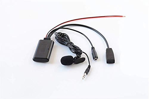 Adaptador Bluetooth manos libres para BMW E46 Serie 3, accesorios auxiliares de coche, receptor de audio inalámbrico para transmisión de música para BMW 320 325 323 328 330 2002-06