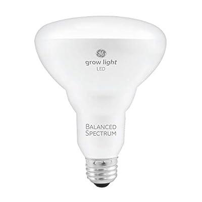 GE BR30 Full Spectrum LED Grow Light Bulb for Indoor Plants, 9-Watt, Full, Balanced Lighting For Seeds & Greens