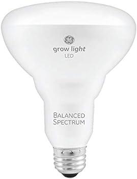 GE Lighting BR30 Full Spectrum 9-Watt LED Grow Light Bulb