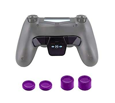 Nyko Trigger Back Button with Thumb Caps for PS4 Game Like A Pro - PlayStation 4