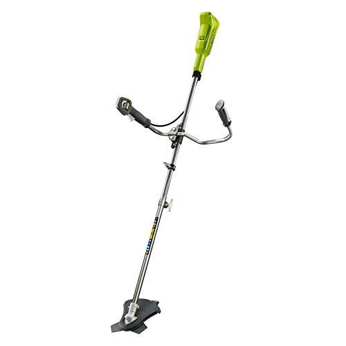 Ryobi Sense 18V, Schnittbreite 30 cm, mit Bikehandle-Griff, mit Tragegurt, ohne Akku und Ladegerät – OBC1820B, Grün