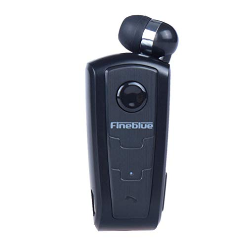 Auricolare Wireless originale Cuffie F910 FineBlue In-ear V4.0 Headset Avviso a Vibrazione Wear Clip Vivavoce per Smartphone (Nero)